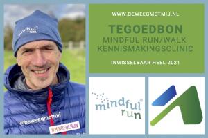 Cadeaubon Mindful Run/Walk kennismakingsclinici
